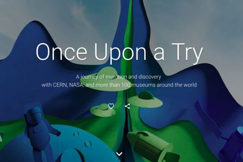 Google partners with NASA and CERN to create massive online exhibit honoring science