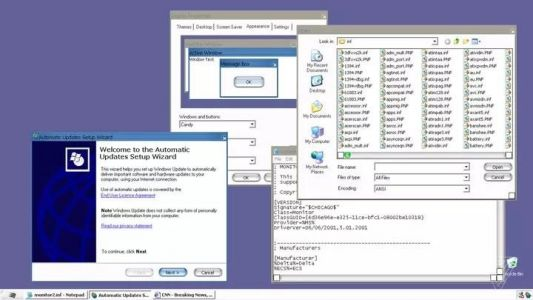 Windows XP had secret theme that looked like Apple's Aqua