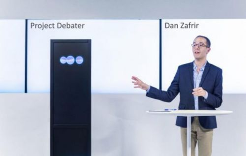 IBM Project Debater AI can argue its position in plain English