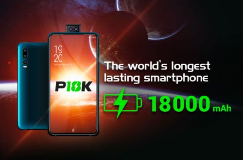 P18K smartphone with 18.000 mAh battery gets to Indiegogo