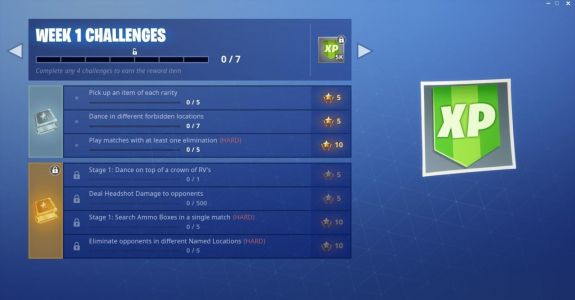 Fortnite Challenges: Dance In Forbidden Locations, Crown Of RV's, And More