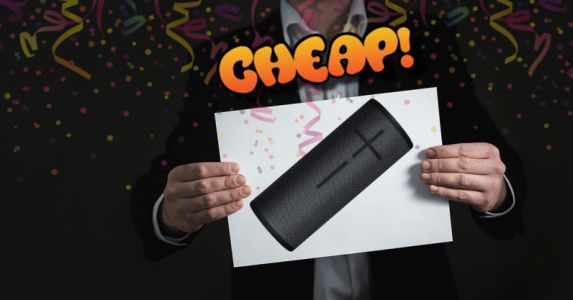 CHEAP: Our beloved UE BOOM 3 now has TOO MUCH DISCOUNT