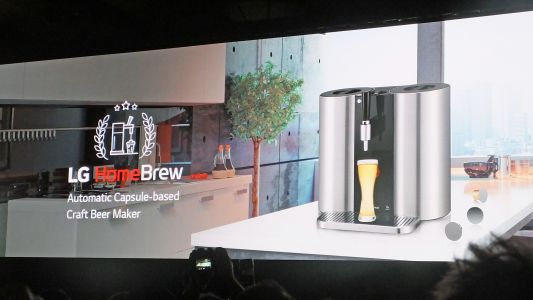 LG HomeBrew is a Nespresso-like beer maker for your home