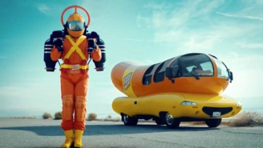 Oscar Mayer is Paying Someone in a Jet Pack to Deliver Hot Dogs
