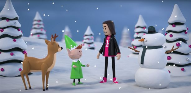 AT&T files complaint with NAD over T-Mobile holiday video