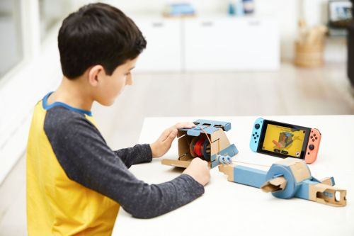 Nintendo is making a bunch of weird DIY cardboard toys for the Switch and they're awesome
