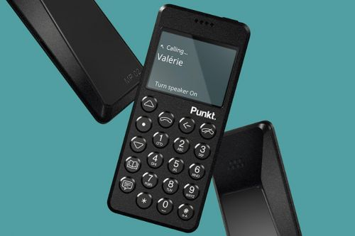 Punkt made an LTE version of its super-minimalist phone