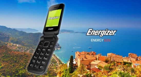 Energizer® ENERGY E20 - The Ergonomic & Easy To Use Flip Phone