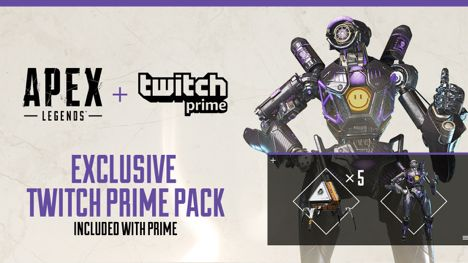 Free Apex Legends Loot Pack Available On Amazon / Twitch Prime