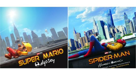 Spider-Man: Homecoming Poster Recreated In Super Mario Odyssey