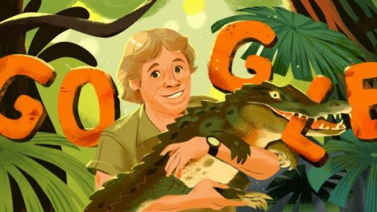 Google Doodle to Honor 'Crocodile Hunter' Steve Irwin on Feb. 22