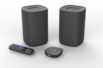 The new Roku TV Wireless Speakers make the company's smart TVs even smarter