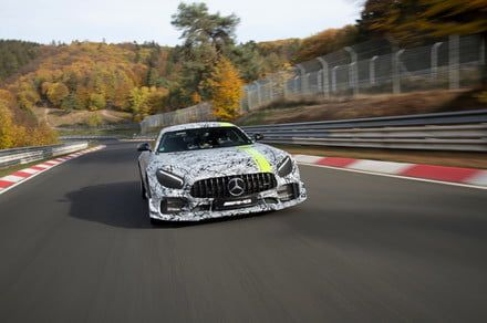 With lessons learned from racing, Mercedes-AMG takes GT R sports car to next level