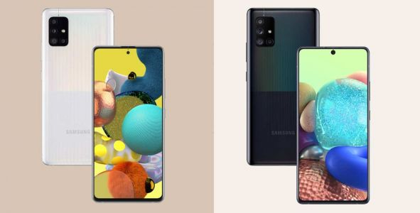 The Samsung Galaxy A51 5G and A71 5G are official and very similar