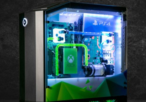 This PS4, Xbox, and Switch mashup is the custom gaming rig of your dreams - and you can't have it