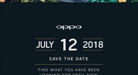 Oppo Find X India launch set for July 12, official invites out