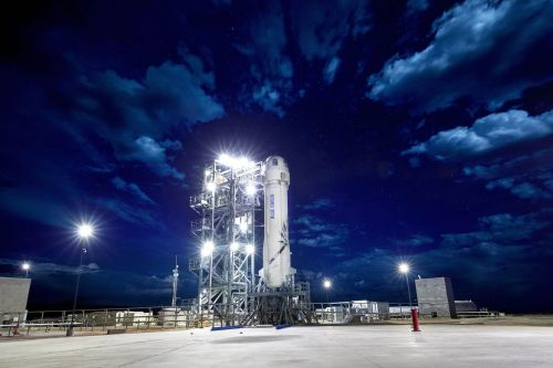 Watch Blue Origin's first New Shepard test flight of 2019