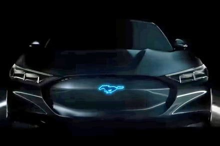 Mustang-like and electrified. What did Ford just show a preview of?