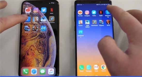 Speed test:  iPhone XS Max vs Galaxy Note 9