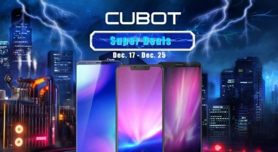 The Last Big Sale for CUBOT Phones in 2018 is now Up at GearBest