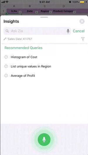 Zoho's office suite gets smarter
