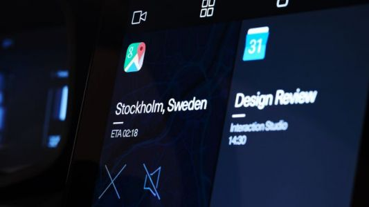 Polestar 2 Android-powered dashboard revealed - and a surprise