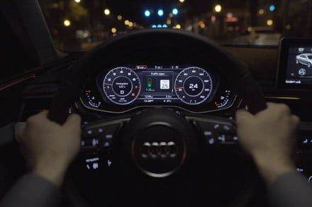 Audi is advancing the tech that teaches cars to talk to traffic lights