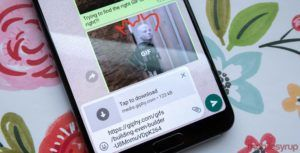 WhatsApp on Android now lets you download GIFs before sending them