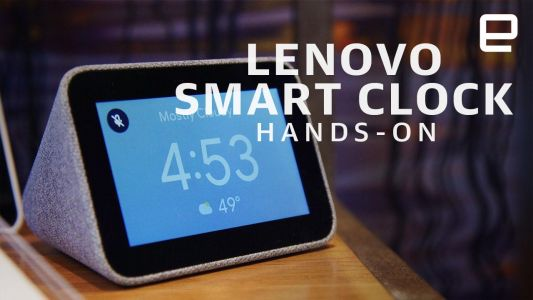 Lenovo's new Smart Clock brings Google Assistant to your nightstand