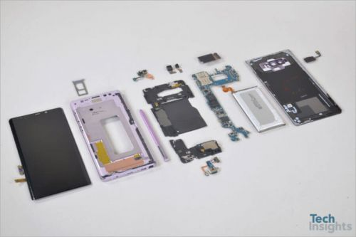 Samsung Galaxy Note 9 Undergoes Deep Teardown