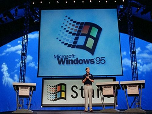 Get stuck in a nostalgia trap with the help of this Windows 95 screensaver game
