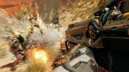 Rage 2 runs at 1080p 60 FPS on Xbox One X