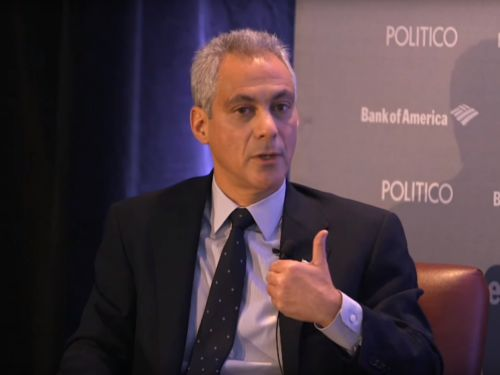 Rahm Emanuel wants to make Chicago the center for a multi-billion tech industry