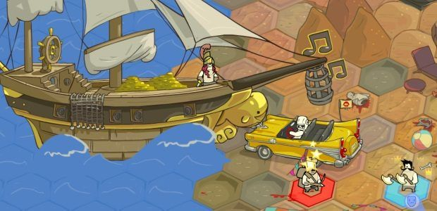 Bizarro strategy-RPG Pit People launches next week