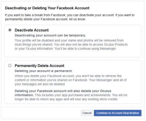 You Will Lose All Your Oculus Games If You Delete Your Facebook Account