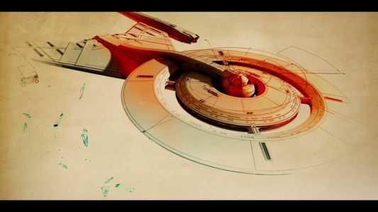 Here's That Slick Looking Main Title Sequence From STAR TREK: DISCOVERY