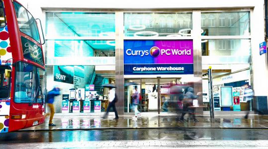 Dixons Carphone profits slide amid challenging market