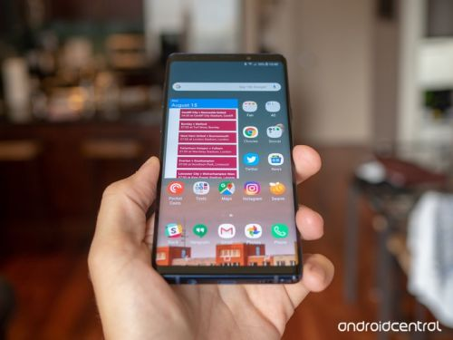 Do you have any scratches on your Galaxy Note 9's screen?