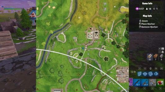 Fortnite: Where To Find Risky Reels Treasure Map