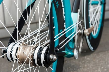 Using pulleys and strings, the Stringbike ditches the chain - and the grease