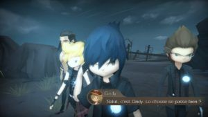 FFXV Pocket Edition HD - Noctis en mode kawaii