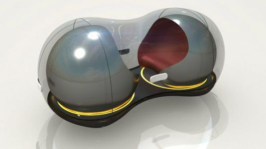 Renault unveils unorthodox 'car of the future': a dockable, peanut-shaped driverless pod