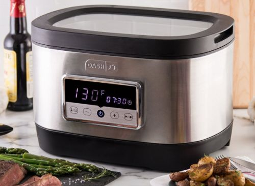 Upgrade your kitchen with this $50 air fryer and $112 stainless steel sous vide cooker