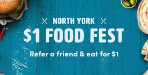 Get lunch for $1 with Toronto-based Ritual's North York food festival