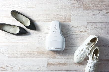 Smelly shoes? Panasonic's deodorizer kit promises to waste the whiff