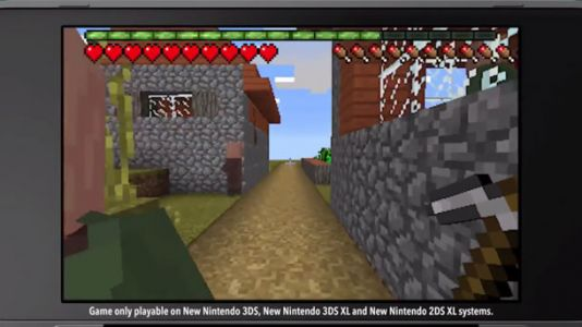 Minecraft Comes To Nintendo 3DS