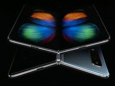 Samsung Galaxy Fold Does What its Name Says