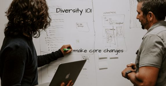 Token hires don't help diversity, making core changes does