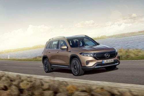 Mercedes-Benz's EQB will be its first mass-market electric SUV in the US