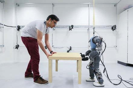 Greater body awareness may make this robot an ace at helping with everyday tasks